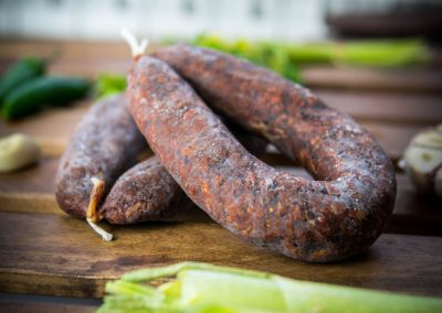 Beef dry sausages