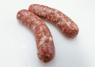 Pork short sausages