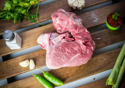 Pork chuck boneless