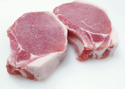 Pork sirloin chops